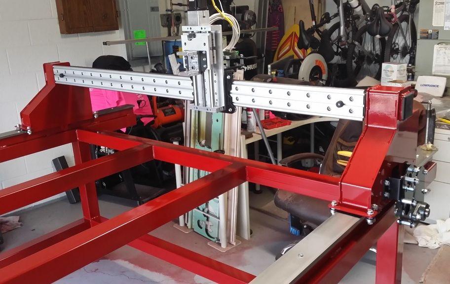 Precision Plasma LLC CNC Plasma/Router Gantry Kits for DIY