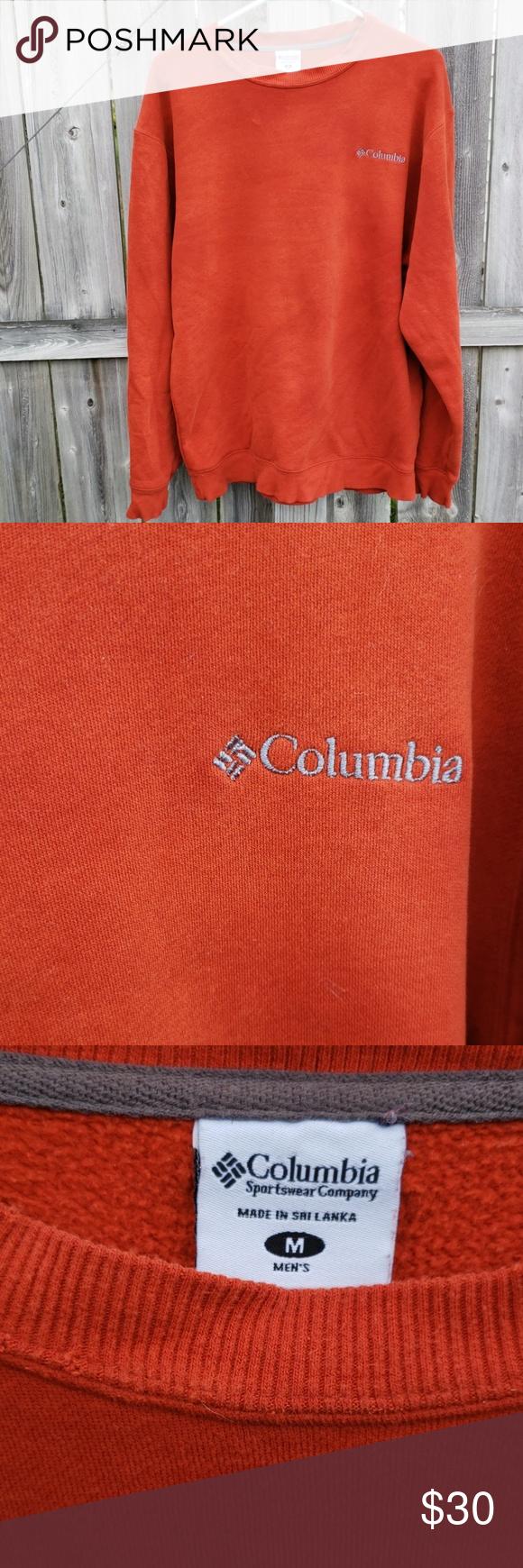 Mens Columbia Sweatshirt In Burnt Orange Columbia Shirt Sweatshirt Shirt Sweatshirts [ 1740 x 580 Pixel ]