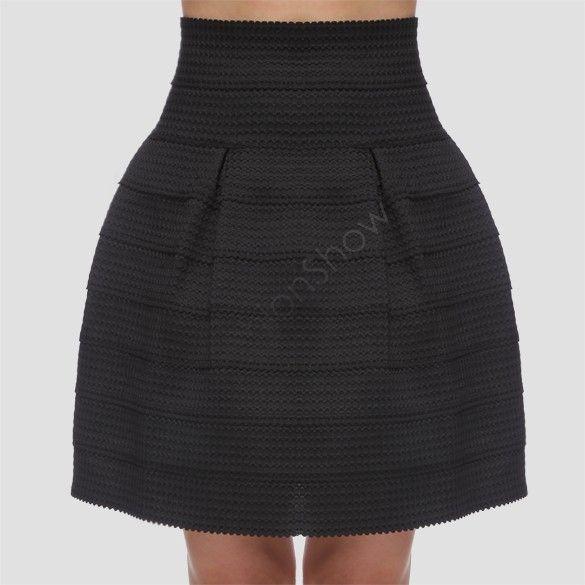 Invierno raya Faldas Mujeres Moda de cintura alta falda del vestido de bola Plus elástico de la falda corta de 34 en Faldas de Ropa de Mujer y Accesorios en Aliexpress.com | Alibaba Group