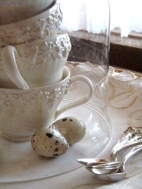 Beautiful Irish table-setting   For the Home   Pinterest   Tableware