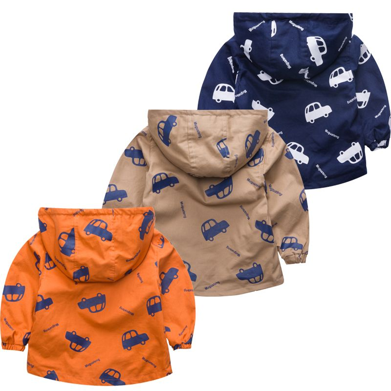 340d40562 Superb New Baby Boy Jackets Baby Hooded Windbreaker