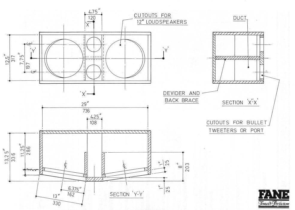 2 x 12 mid range angled plans