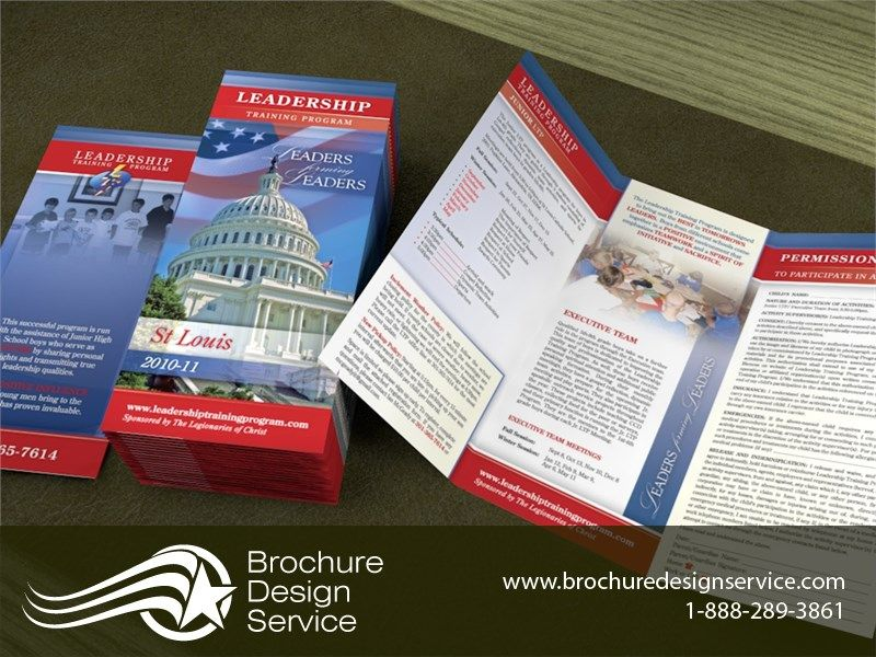 Sample Bi Fold Brochure Bifold Brochures For It Company Brochure
