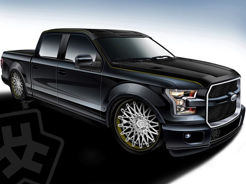 Ford's SEMA Trucks Include a 750HP Supercharged F150