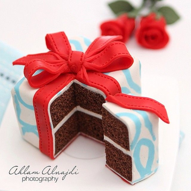 كيكة عيد الميلاد بذوق الشوكولا 10