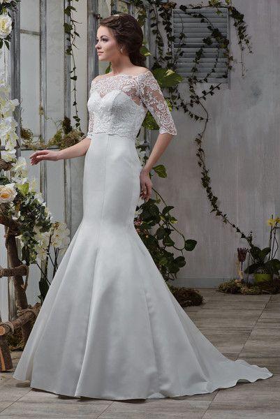 Wedding Dress Hochzeit Brautkleid PAMELA +Bolero | Brautkleid ...