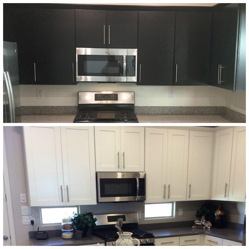 Dark vs. Light cabinets   Cool kitchens, Kitchen, Kitchen ...