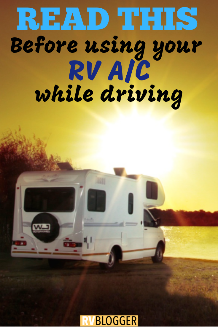 Can I Run the RV A/C While Driving (With images) Rv