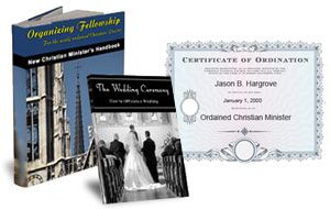 Here casual, how to become an ordained christian minister well
