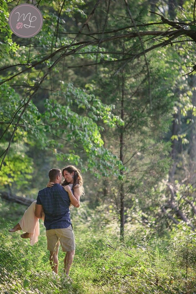 Sweet summer engagement session. Statesville, NC engagement photographer Mabyn Ludke Photography