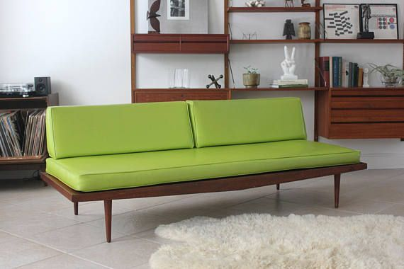 Wondrous Mid Century Modern Daybed Sofa By Rubee Sofalounge Case Alphanode Cool Chair Designs And Ideas Alphanodeonline