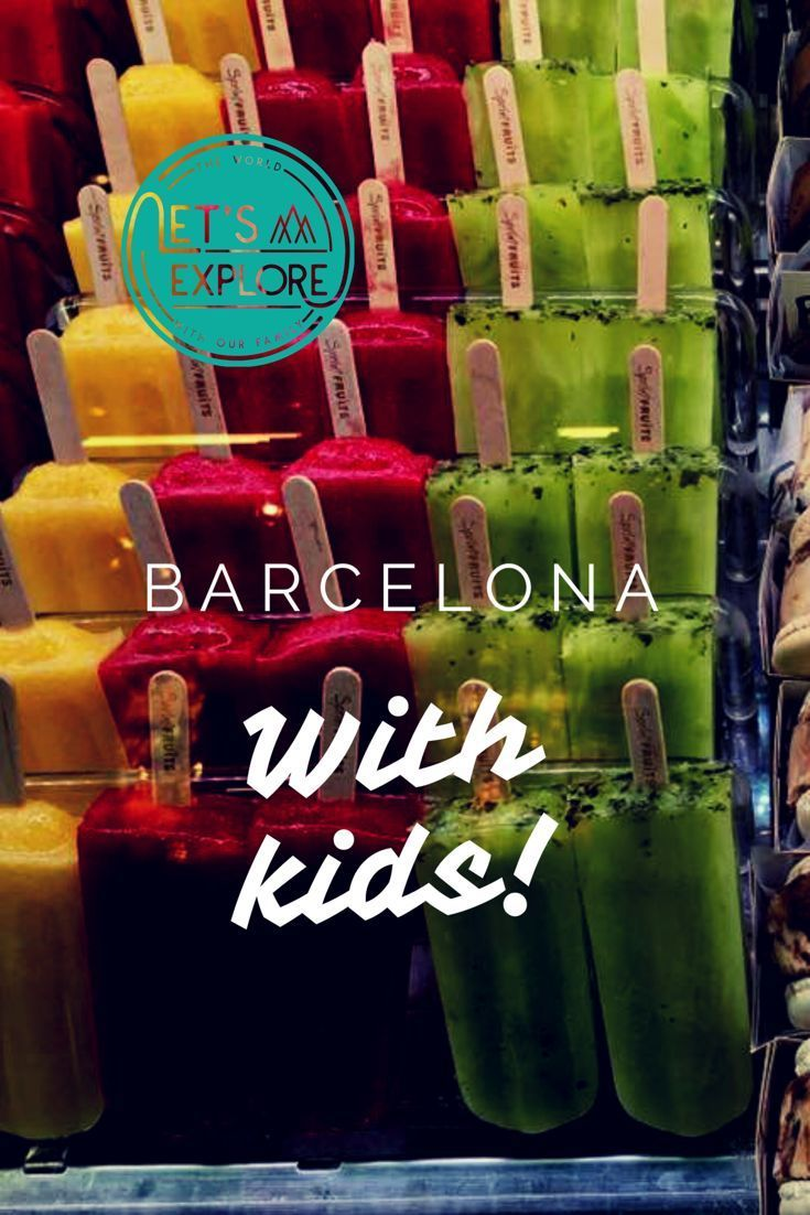 Top things to do with kids in Barcelona, from little ones to bigger children, coming back each time loving Barcelona a little bit more! #Barcelonawithkids #Barcelona #citytripswithkids