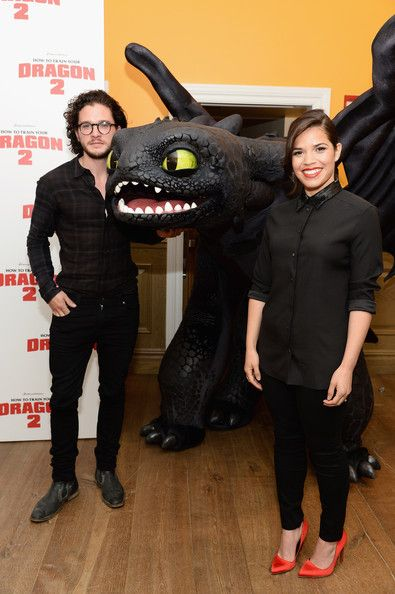 How to train your dragon 2 cast kit harington