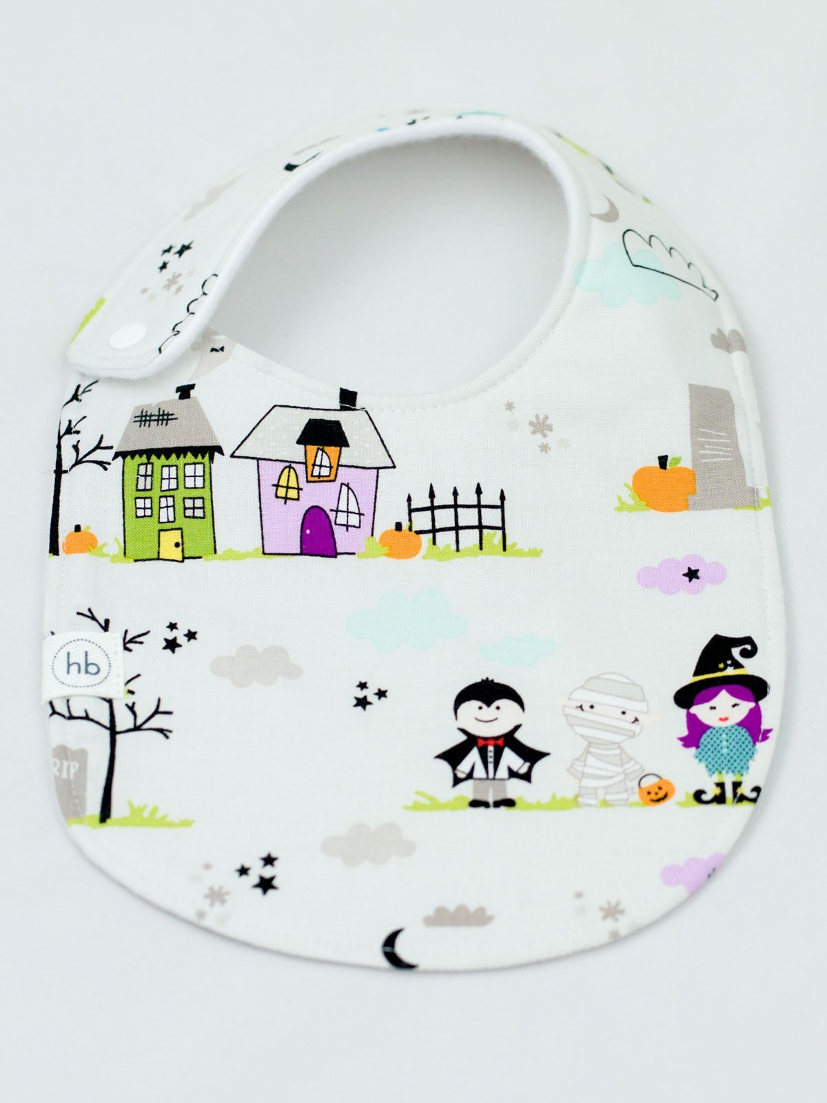 Charlie Bib in Trick-or-Treat - LIMITED EDITION
