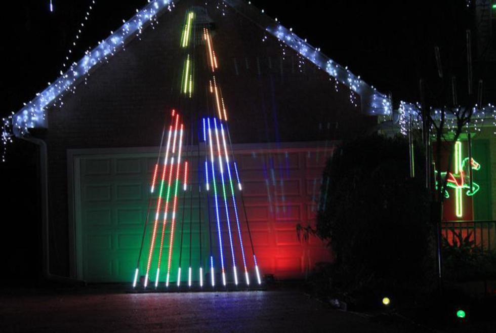 Mega RGB Christmas Tree Video Examples