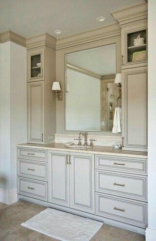 Pin By Kb Wayne On Watercolour Painting Timeless Bathroom Bathroom Vanity Designs Bathroom Design