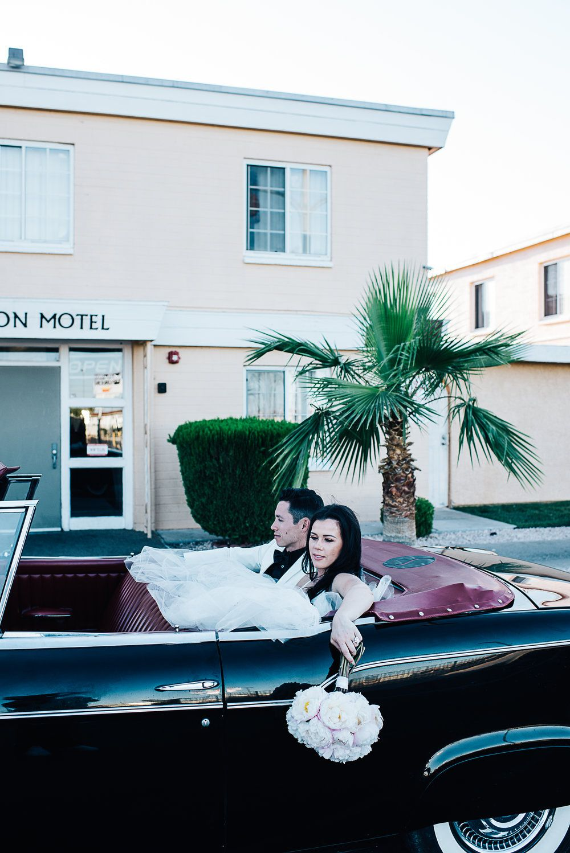 Simple wedding dresses for eloping  Las Vegas Wedding at The Venue DTLV Fremont st Carsonus Kitchen
