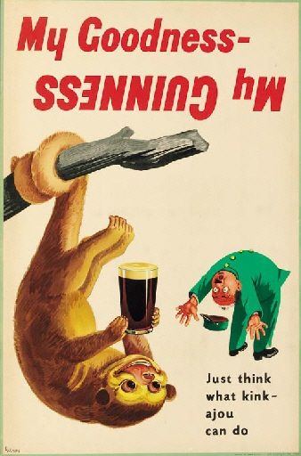Gilroy vintage Guinness poster 1952 | DRINK POSTERS | Pinterest ...
