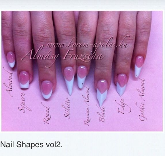 Pin By Meshanna Swarts On Nail Art Pinterest Inspo Beauty Diffe Types Of Acrylic Tips