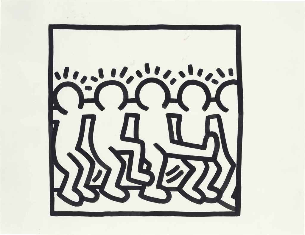 Keith Haring Kids Coloring Book Google Search Keith Haring Haring Art Keith Haring Art