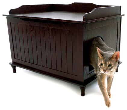 Superb This Smart Enclosure Camouflaged As A Piece Of Furniture. The Litter Pan,  Litter Scoop