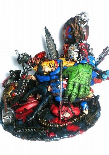 Deadpool Throne (Marvel Legends) Custom Diorama / Playset ...
