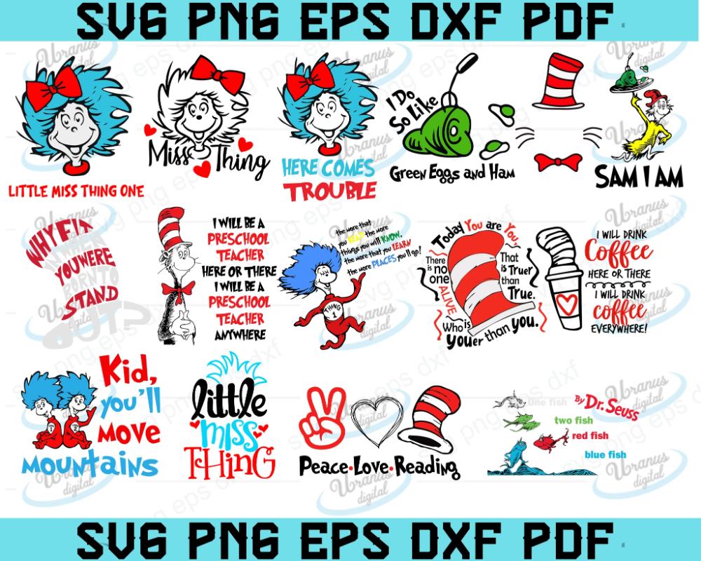 Pin On Dr Seuss Svg