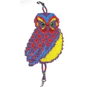 Rainbow Loom Bracelet Patterns | Beading Pattern: Loom or Square Stitch Rainbow Owl Bracelet
