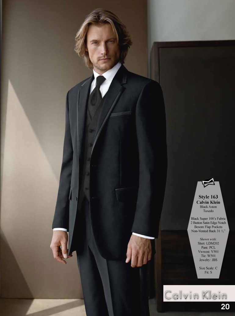 Calvin klein black aston tuxedo rol dungeonni pinterest