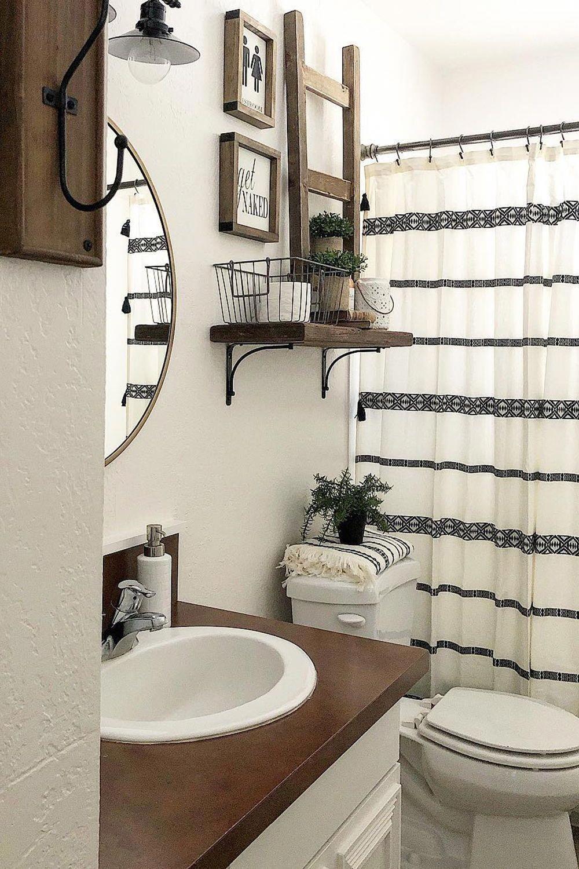 Home In 2020 Bathroom Decor Farmhouse Bathroom Decor Bathroom
