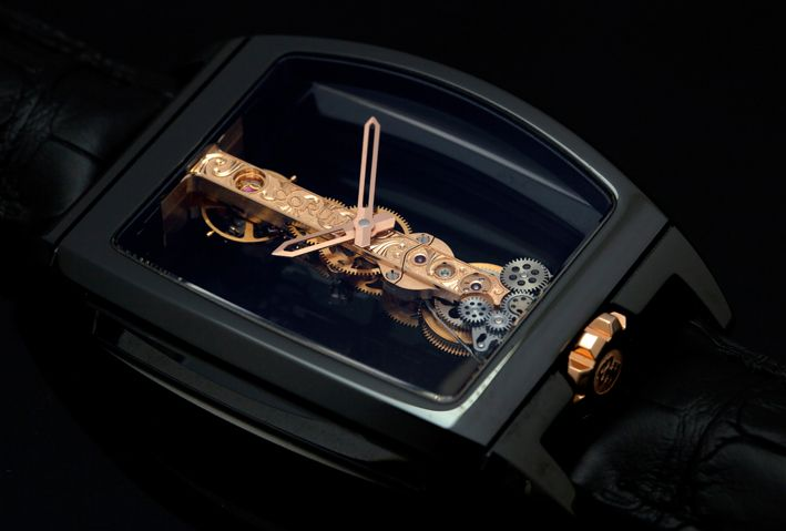 Corum Golden Bridge - Will be sold in our next summer public auction in Monte-Carlo - July 28th - Visit us www.boule-auctions.com