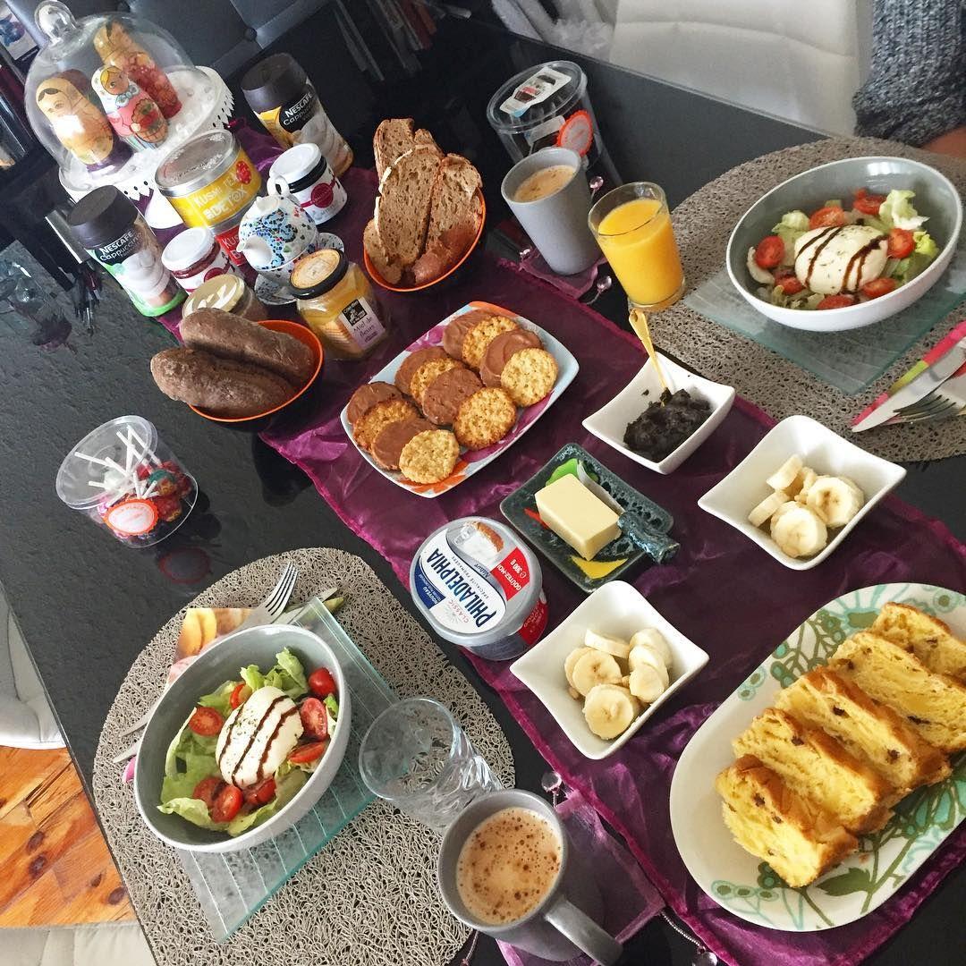 "43 mentions J'aime, 2 commentaires - Christine Chequel (@christinechequel) sur Instagram: ""Brunchitooooo #sunday #brunch #weekend #home #coffee #cappuccino #tea @kusmiteaparis @nutella…"""