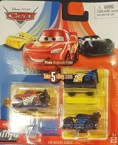 Mattel Disney Pixar Cars 2020 Mini Racers 3 Packs Bind Boxes
