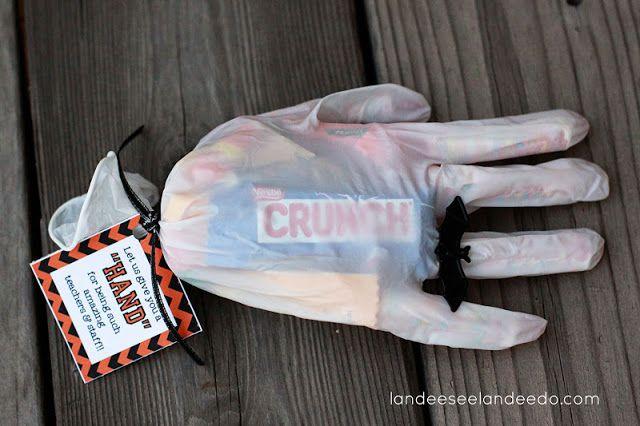 ¿truco o trato? Una idea original para hacer ese momento más divertido! #halloween