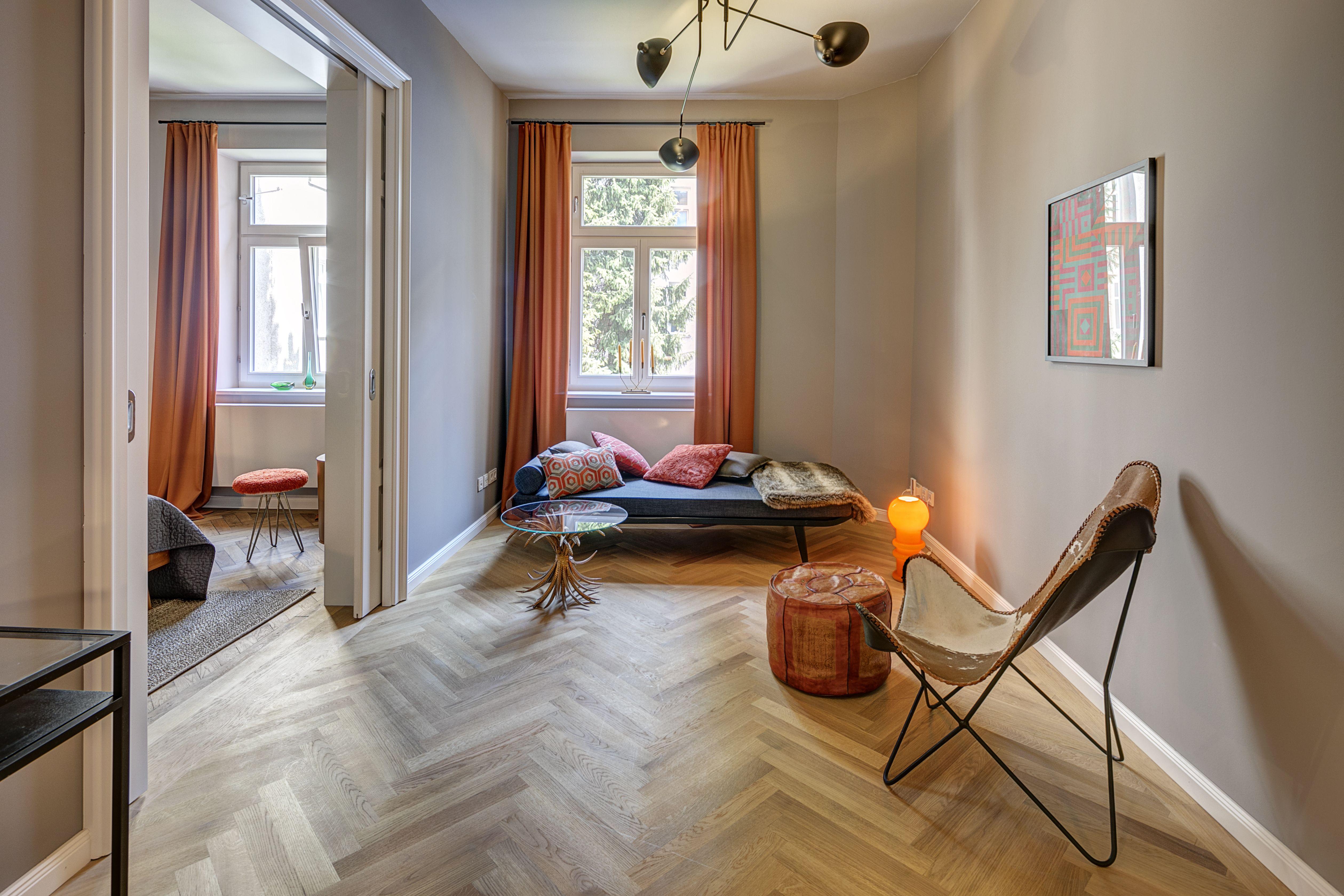 Gemütliches Und Außergewöhnliches Wohnzimmerdesign