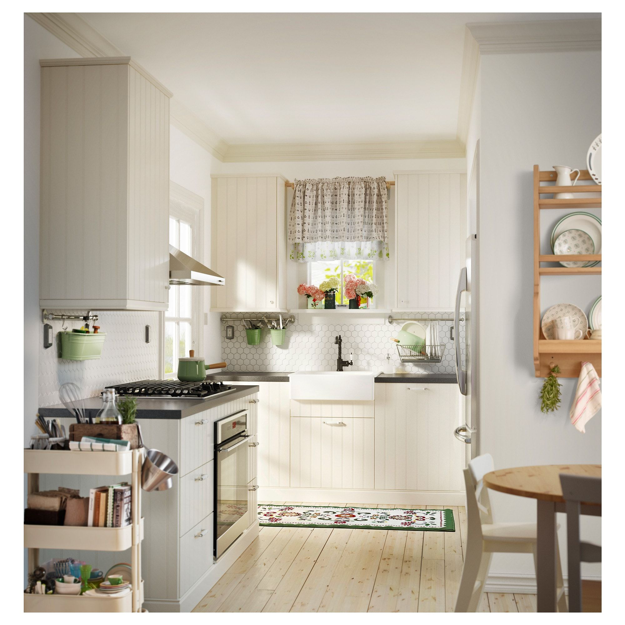Hittarp Door Off White 24x40 Ikea Affordable Farmhouse Kitchen Kitchen Trends Kitchen Interior