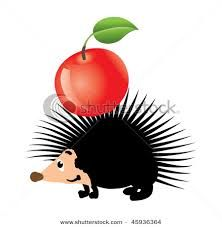 hedgehogs and apples - Google Search