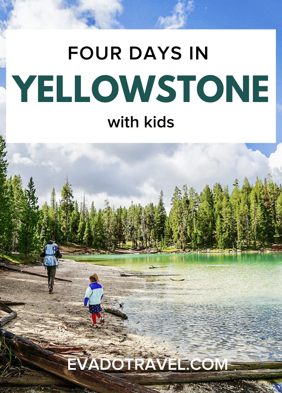 The best itinerary for visiting Yellowstone National Park full of hiking and sightseeing, plus tips and where to stay. This Yellowstone road trip will take you to the highlights and avoid the crowds. | Yellowstone in September | Yellowstone vacation with kids | Yellowstone things to do #yellowstone #travel #vacation #travelwithkids #nationalpark