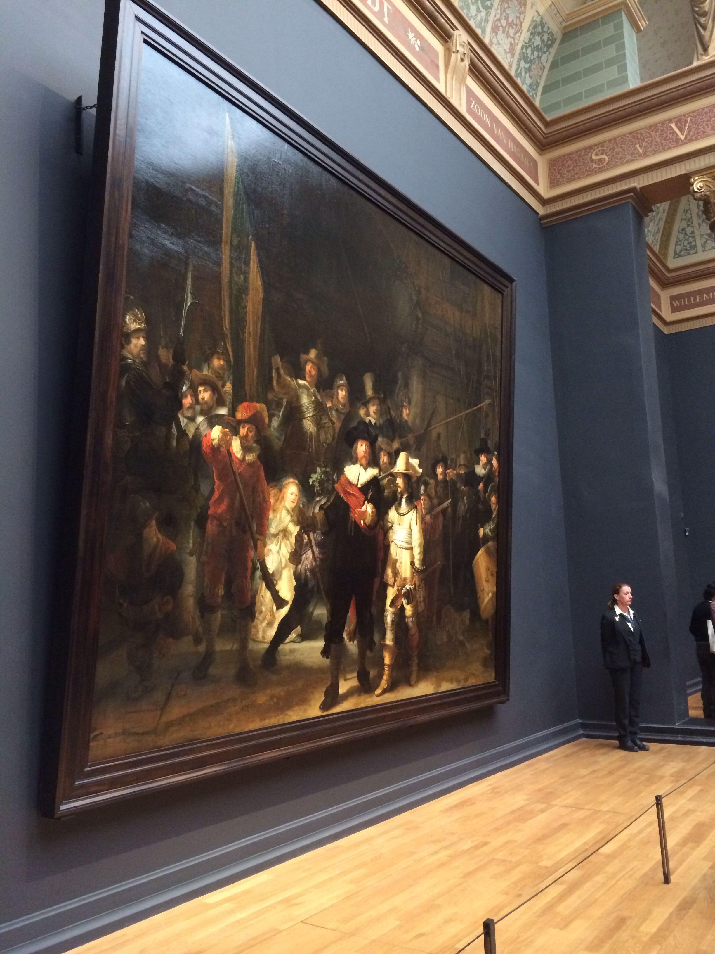 De Nachtwacht Rembrandt Dutch Painters Netherlands Painting