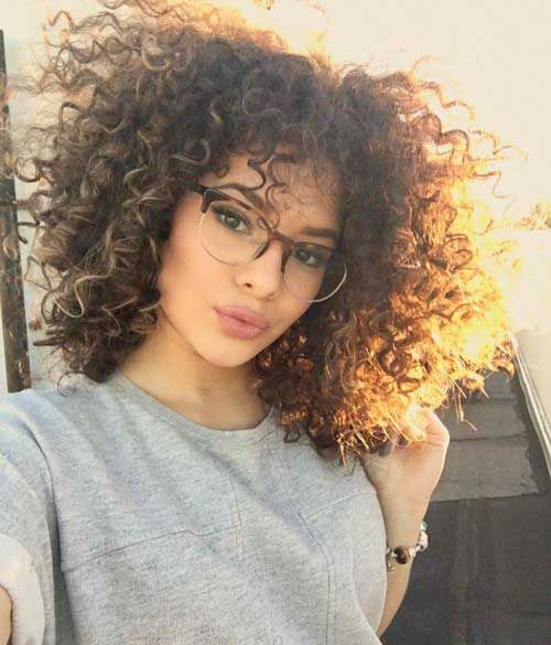 Very Pretty Short Cuts For Curly Hair Curly Hairstyles Pinterest