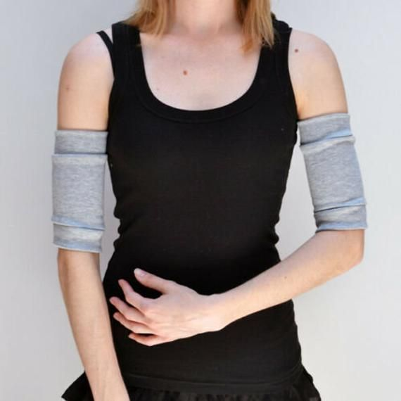 TRIXY XCHANGE Gray Arm Bands with Pockets Exercise Arm Bands Athletic Arm Cuffs Grey Wrist Cuffs Wor #armbandworkouts TRIXY XCHANGE Gray Arm Bands with Pockets Exercise Arm Bands Athletic Arm Cuffs Grey Wrist Cuffs Wor #armbandworkouts