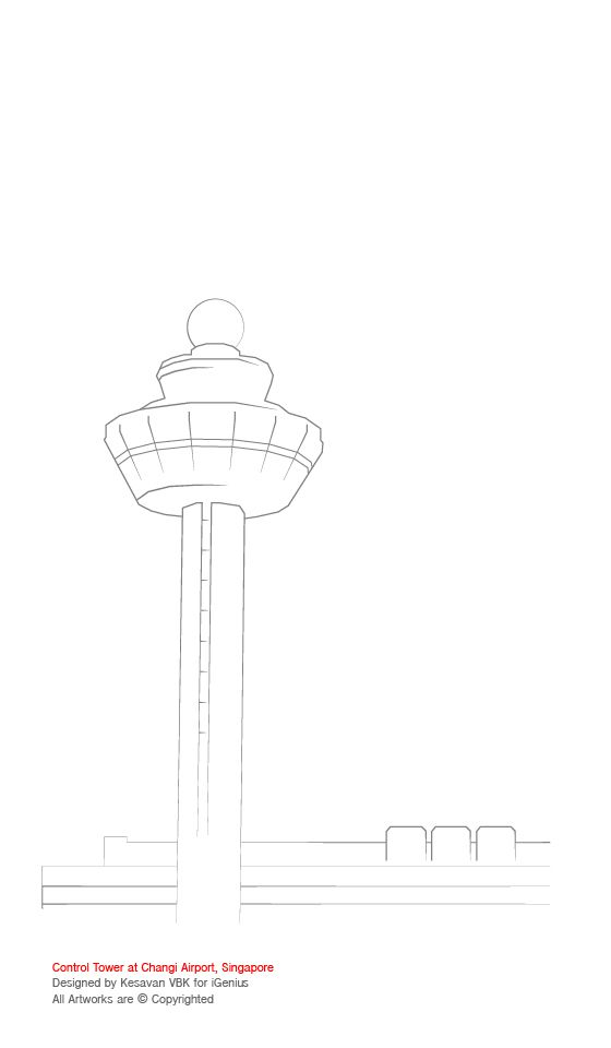Title Changi Airport Control Tower Activity Colouring Activity