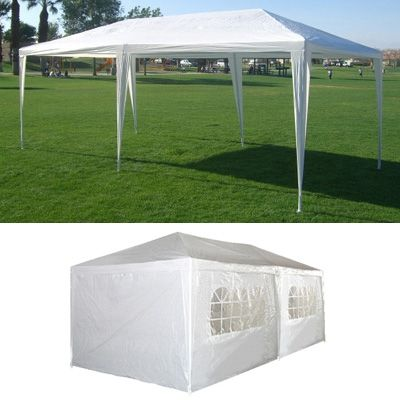 10 X 20 White Canopy Party Tent Sidewalls Patio Canopy Canopy Tent Party Tent