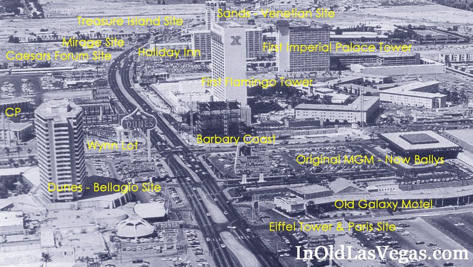History of the las vegas strip