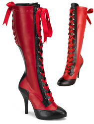 Hellfire Steppers Knee-Boots