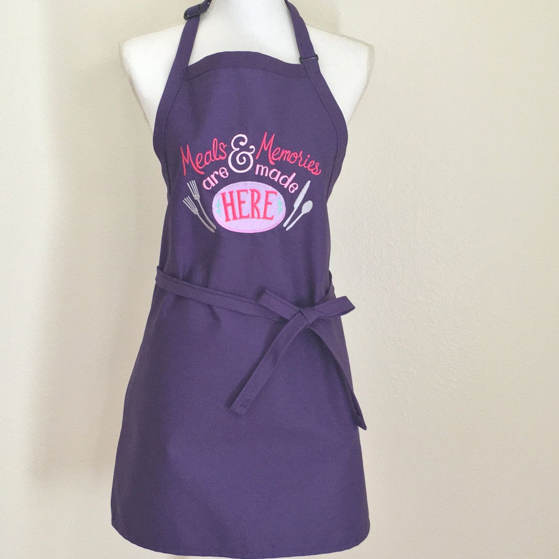 apron bakers apron cooks apron embroidered apron