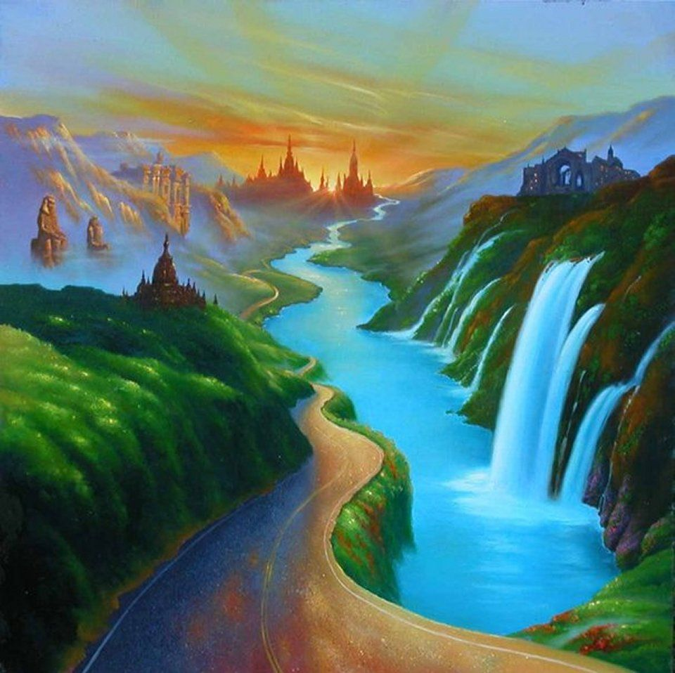 Jim Warren   Surrealism painting, Fantasy paintings