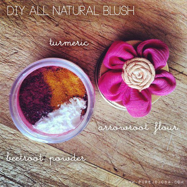 DIY All Natural Makeup- Foundation, Blush, Lip Stain, Bronzer