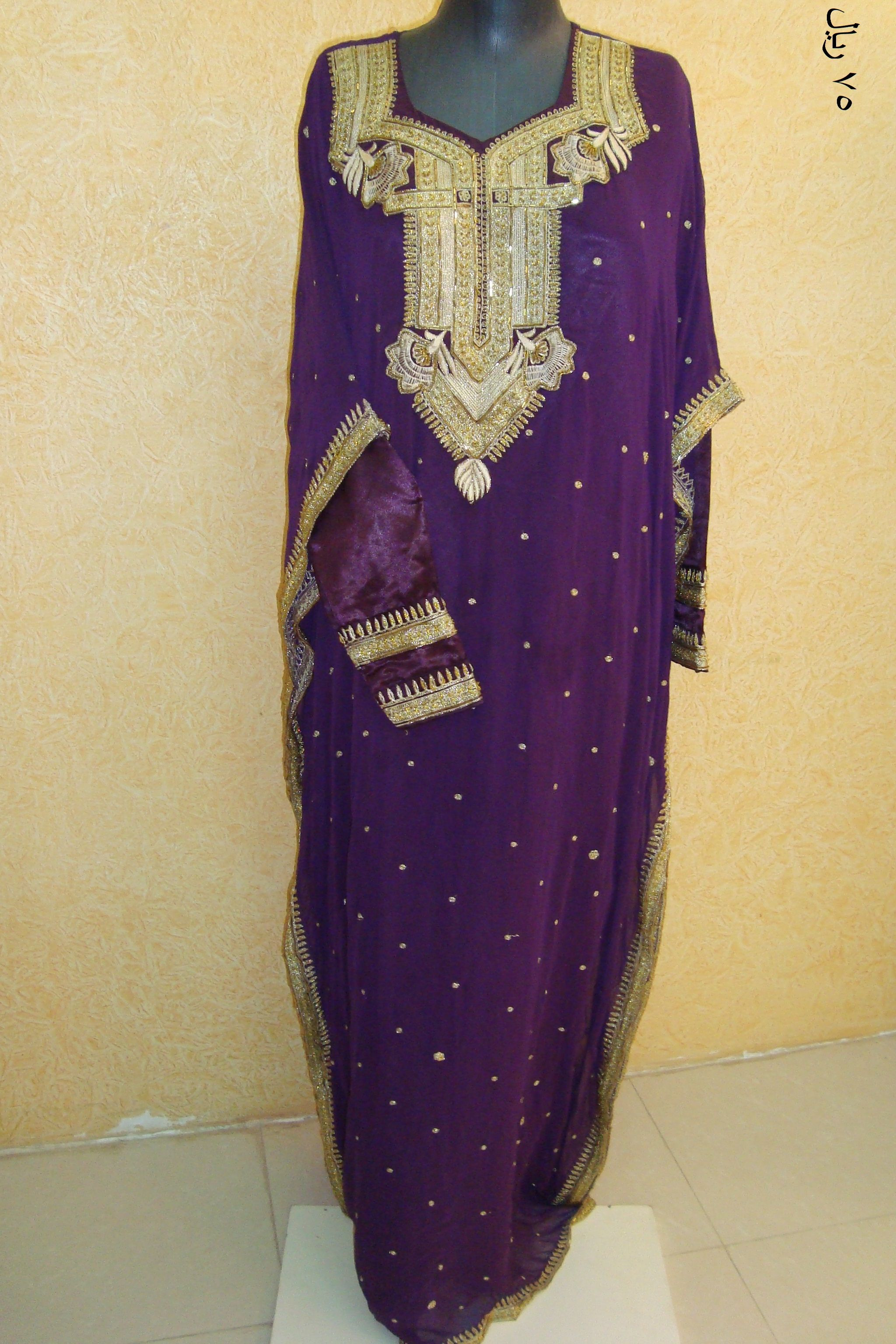 A jalabiya or thobe from the United Arab Emirates. Traditional outfit.   khaleej 0348ca0f8