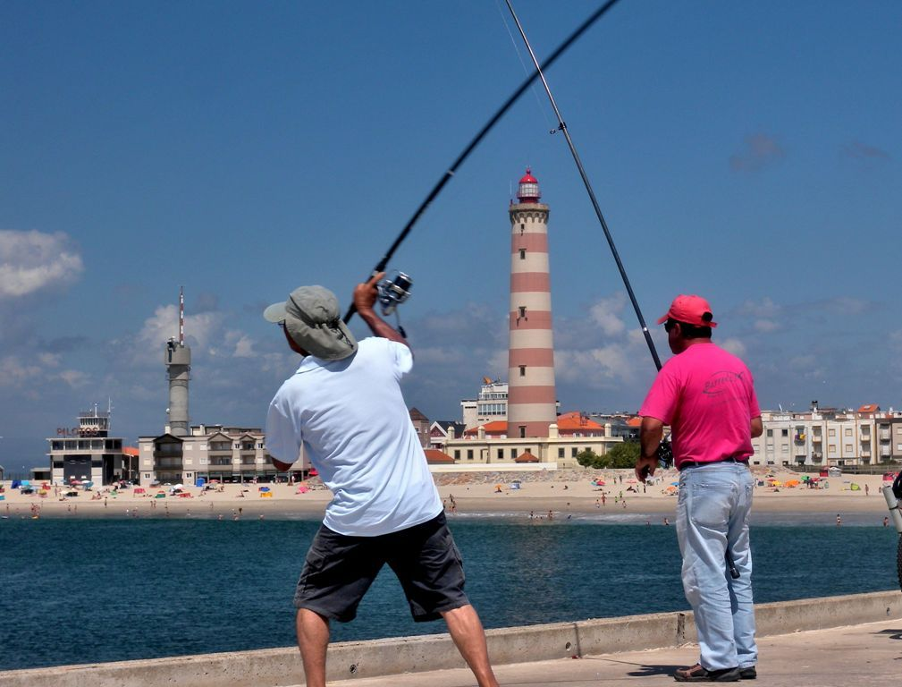 The nature around Aveiro gives it a temperate climate and good for the practice of fishing  - Portugal